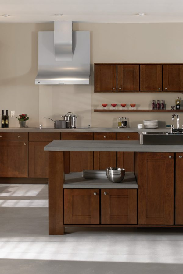 Cherry Woodgrain Kitchens